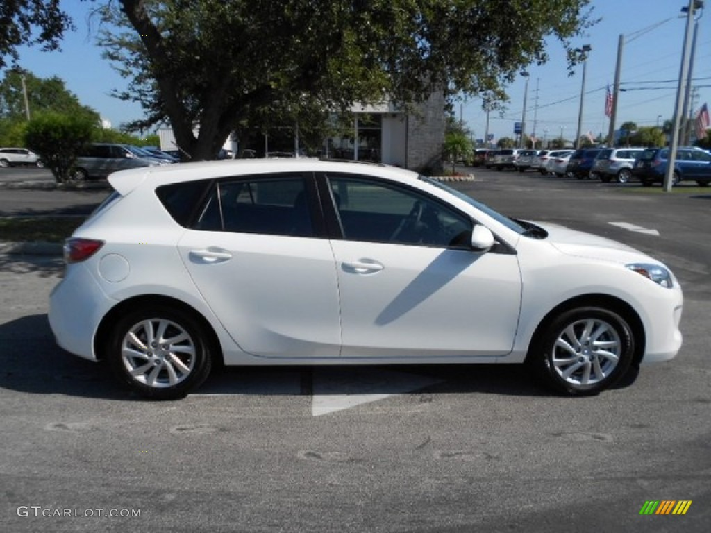 crystal white pearl mica 2012 mazda mazda3 i grand touring. Black Bedroom Furniture Sets. Home Design Ideas