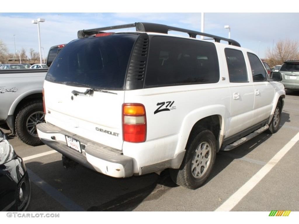 2001 Summit White Chevrolet Suburban 1500 Z71 4x4 80290002