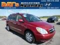Cranberry Red 2007 Hyundai Entourage Limited
