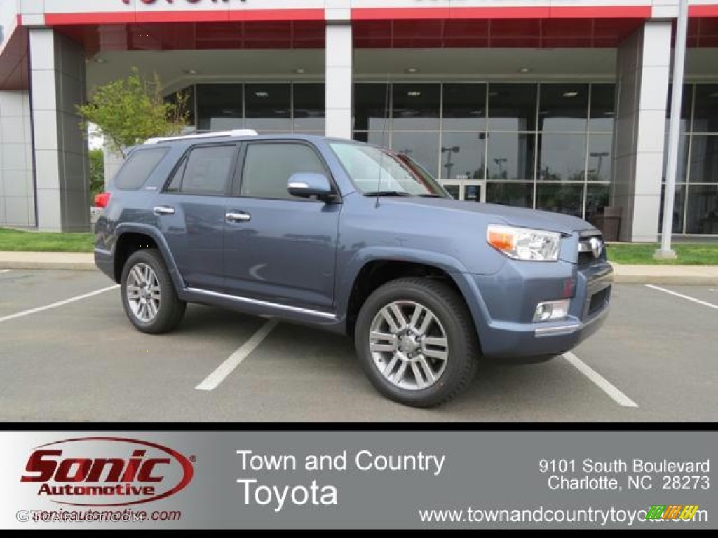 2013 Shoreline Blue Pearl Toyota 4runner Limited 4x4 80290609 Car Color Galleries