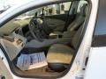 Pebble Beige/Dark Accents Front Seat Photo for 2013 Chevrolet Volt #80346056