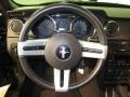 Dark Charcoal Steering Wheel Photo for 2007 Ford Mustang #80353378