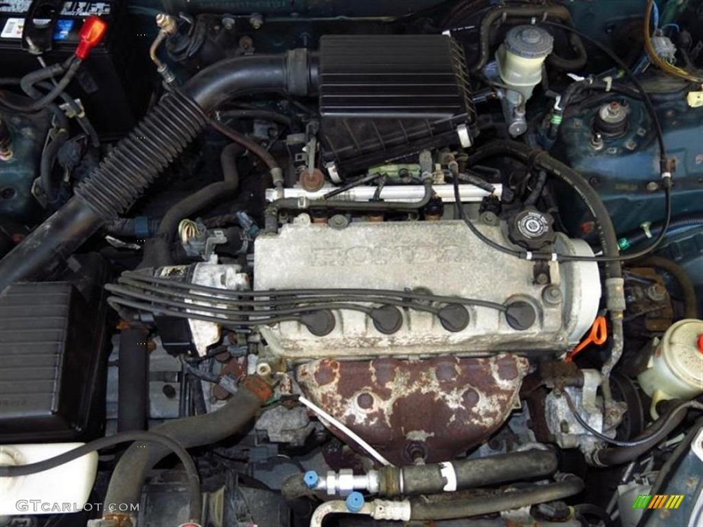 1996 Honda Civic DX Sedan Engine Photos   GTCarLot.com