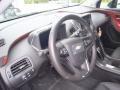 Jet Black/Spice Red/Dark Accents Steering Wheel Photo for 2013 Chevrolet Volt #80355209