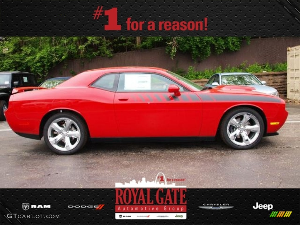 2013 Challenger R/T Plus - Redline 3-Coat Pearl / Dark Slate Gray photo #1