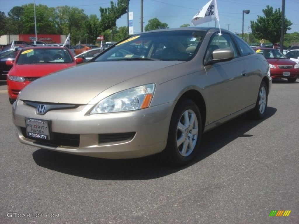 2005 desert mist metallic honda accord ex v6 coupe. Black Bedroom Furniture Sets. Home Design Ideas