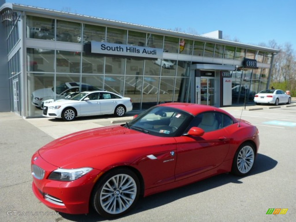 2012 Crimson Red Bmw Z4 Sdrive35i 80351040 Gtcarlot Com