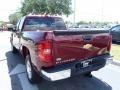 2013 Deep Ruby Metallic Chevrolet Silverado 1500 LT Crew Cab  photo #4