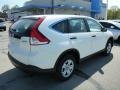 2013 White Diamond Pearl Honda CR-V LX AWD  photo #3