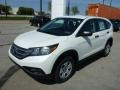2013 White Diamond Pearl Honda CR-V LX AWD  photo #7