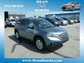2013 Twilight Blue Metallic Honda CR-V EX-L AWD  photo #1