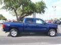 2013 Blue Topaz Metallic Chevrolet Silverado 1500 LT Crew Cab 4x4  photo #7