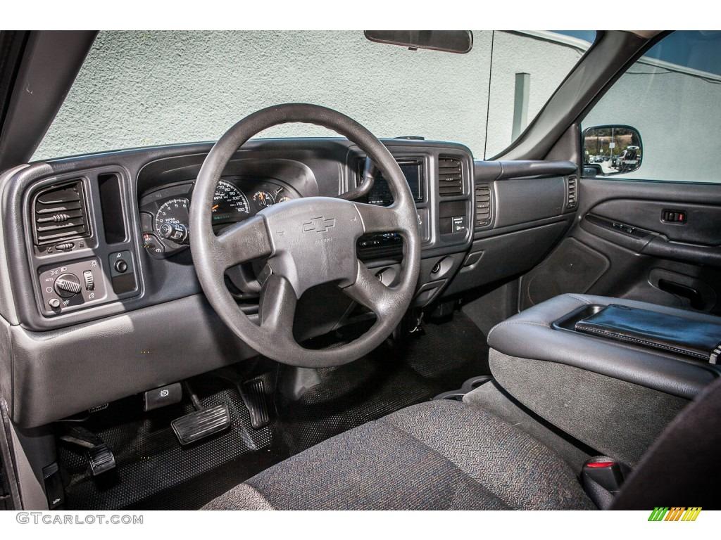 Dark Charcoal Interior 2004 Chevrolet Silverado 2500HD Regular Cab Photo  #80390659 Amazing Design