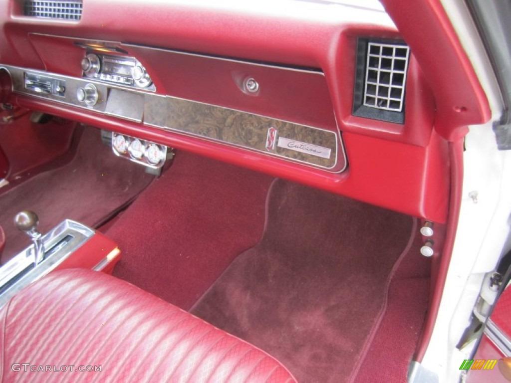 1969 Oldsmobile Cutlass S Red Dashboard Photo 80391339