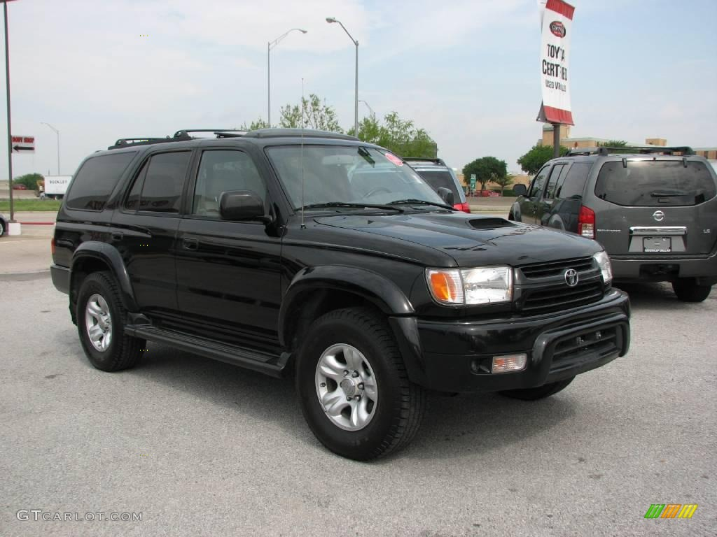 2001 4Runner SR5   Black / Gray Photo #4