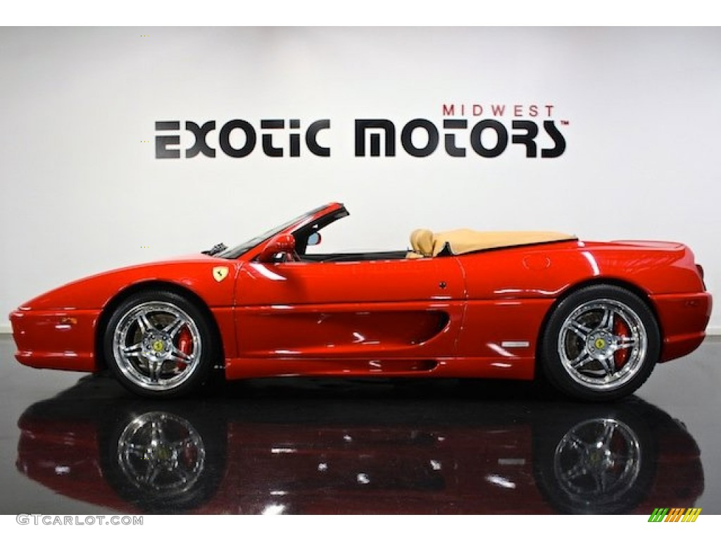 1997 F355 Spider - Red / Tan photo #1