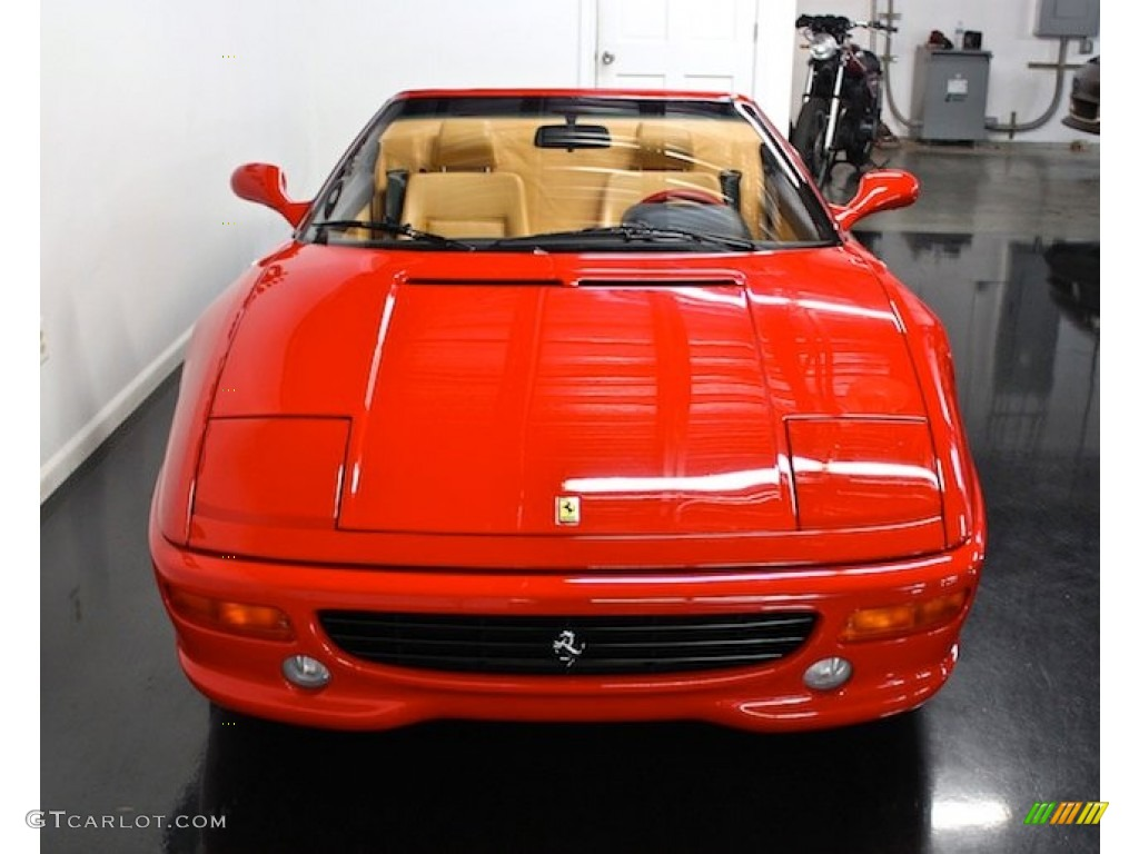 Red 1997 Ferrari F355 Spider Exterior Photo #80397490
