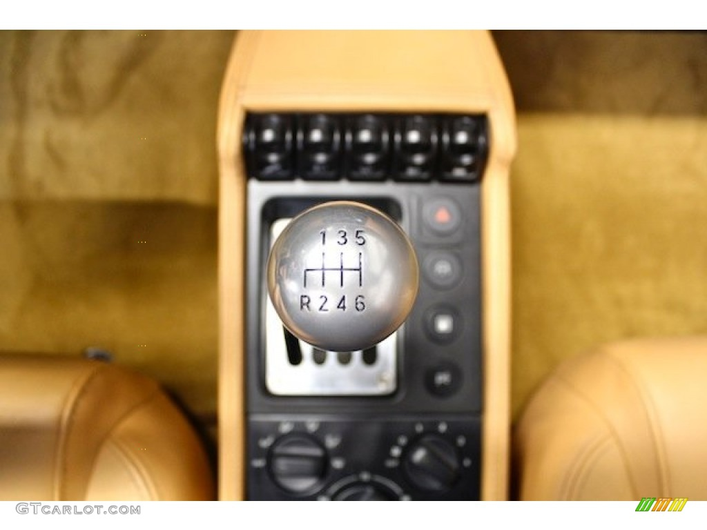 1997 Ferrari F355 Spider Transmission Photos