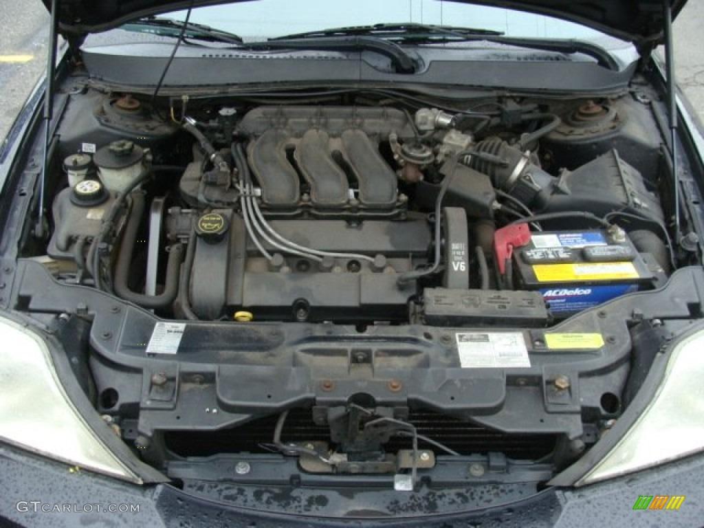 2002 Mercury Sable Ls Premium Sedan 3 0 Liter Dohc 24