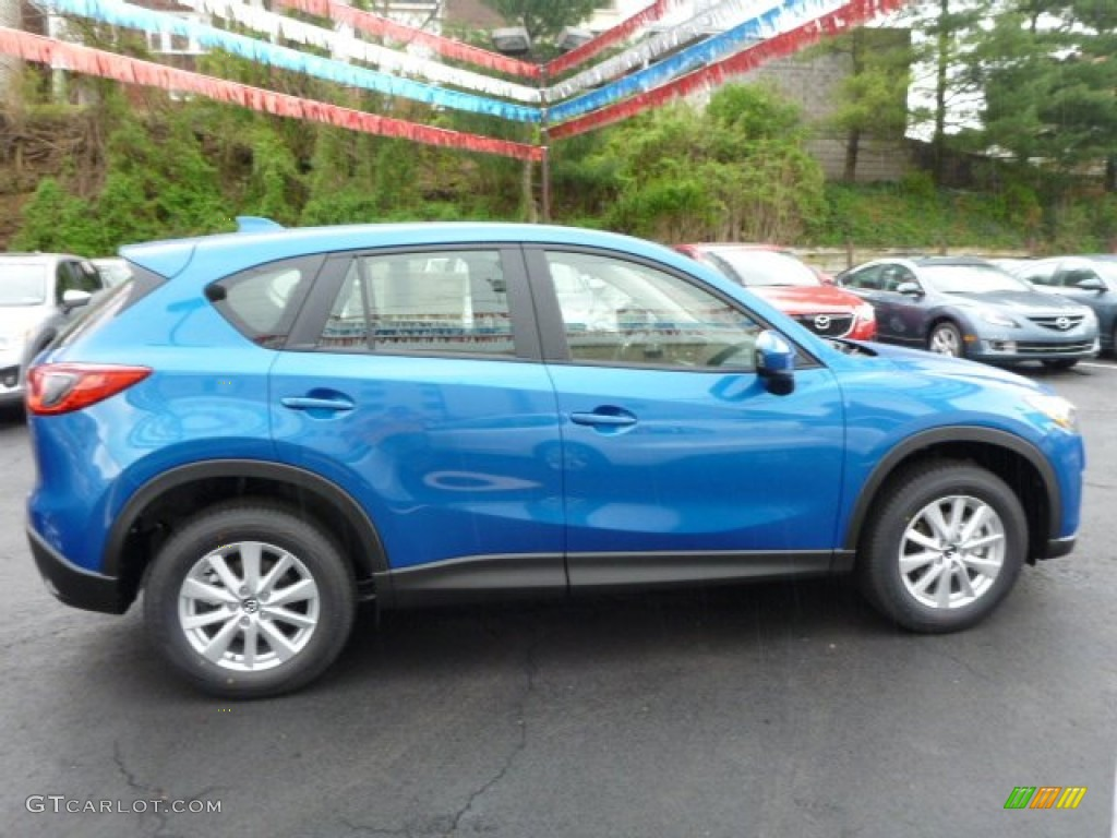 sky blue mica 2014 mazda cx 5 sport awd exterior photo 80413824. Black Bedroom Furniture Sets. Home Design Ideas