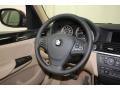 Sand Beige Steering Wheel Photo for 2014 BMW X3 #80415708