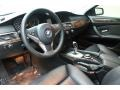 Black 2008 BMW 5 Series Interiors