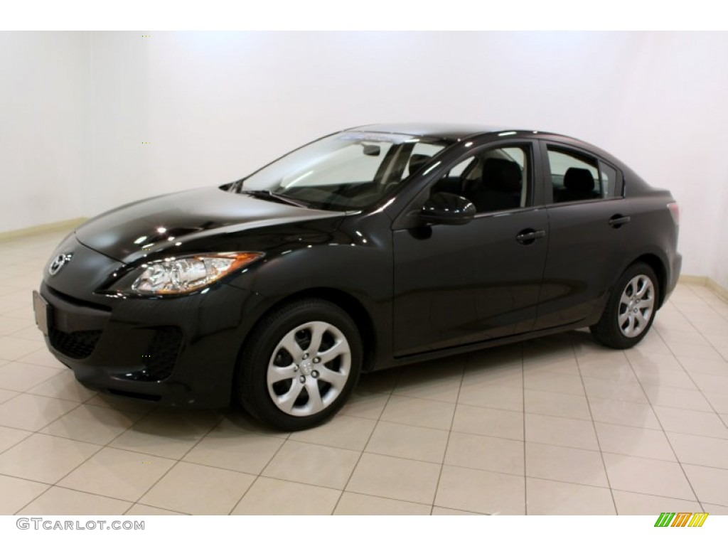 black mica 2012 mazda mazda3 i sport 4 door exterior photo 80433465. Black Bedroom Furniture Sets. Home Design Ideas