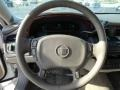 2005 Cadillac DeVille Shale Interior Steering Wheel Photo