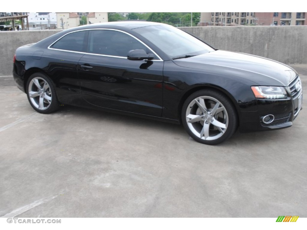 brilliant black 2012 audi a5 2 0t quattro coupe exterior photo 80441633. Black Bedroom Furniture Sets. Home Design Ideas