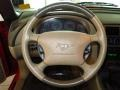2003 Ford Mustang Medium Parchment Interior Steering Wheel Photo