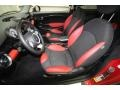 Black/Rooster Red Interior Photo for 2009 Mini Cooper #80457909