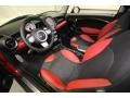 Black/Rooster Red Front Seat Photo for 2009 Mini Cooper #80458104