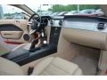 2007 Ford Mustang Medium Parchment Interior Dashboard Photo