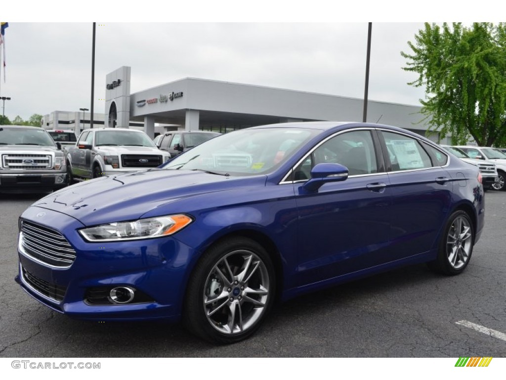 deep impact blue metallic 2013 ford fusion titanium exterior photo. Cars Review. Best American Auto & Cars Review