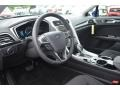 SE Appearance Package Charcoal Black/Red Stitching Dashboard Photo for 2013 Ford Fusion #80462710
