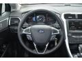 SE Appearance Package Charcoal Black/Red Stitching Steering Wheel Photo for 2013 Ford Fusion #80462880