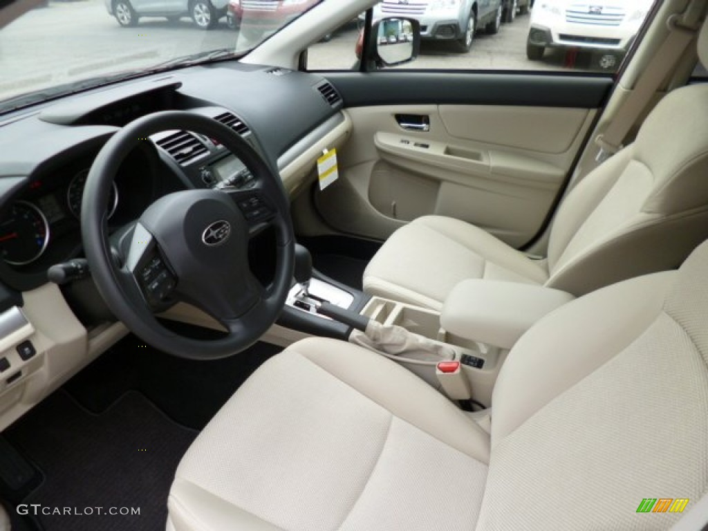 Ivory Interior 2013 Subaru Xv Crosstrek 2 0 Premium Photo