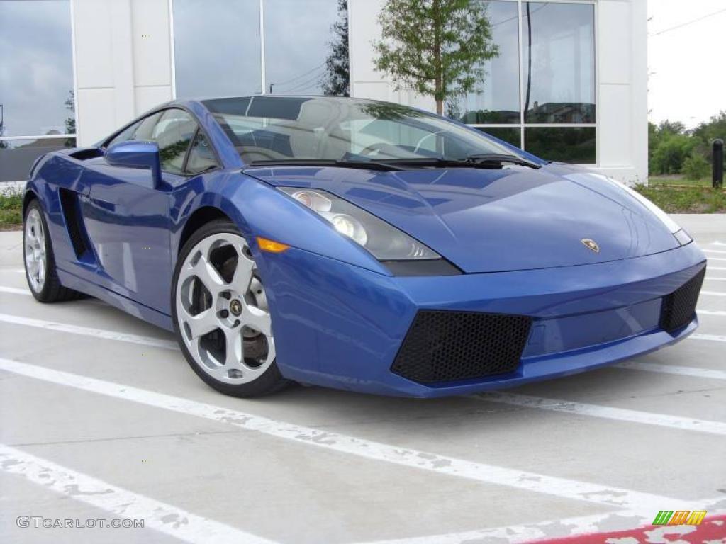 2005 blu caelum (blue) lamborghini gallardo coupe #8032119