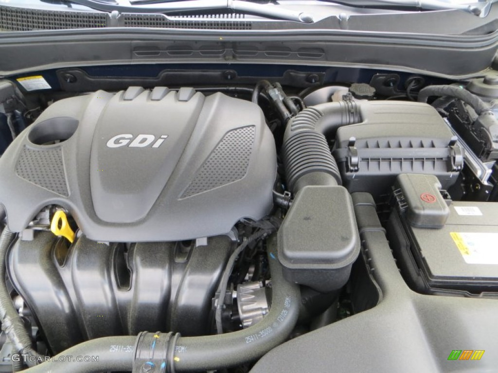 2013 Hyundai Sonata SE Engine Photos