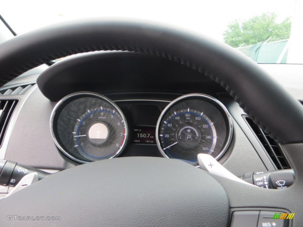2013 Hyundai Sonata SE Gauges Photos