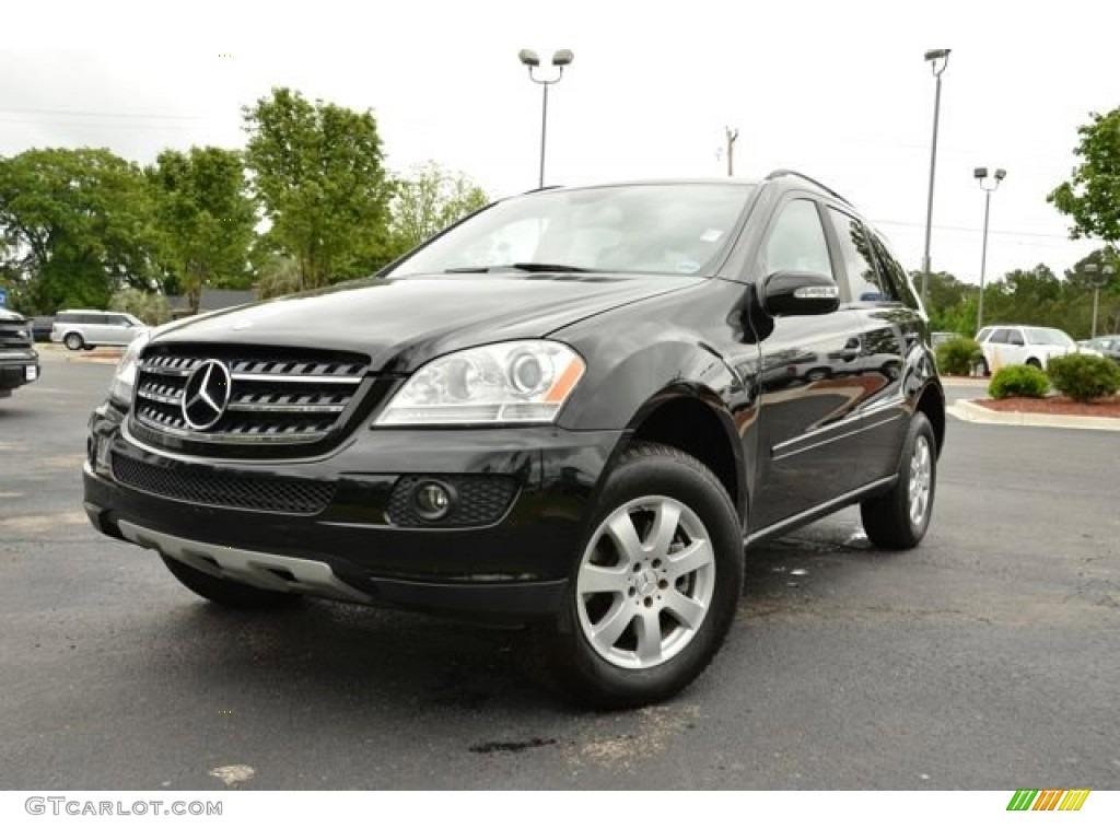 Black 2007 mercedes benz ml 350 4matic exterior photo for Mercedes benz 350 ml