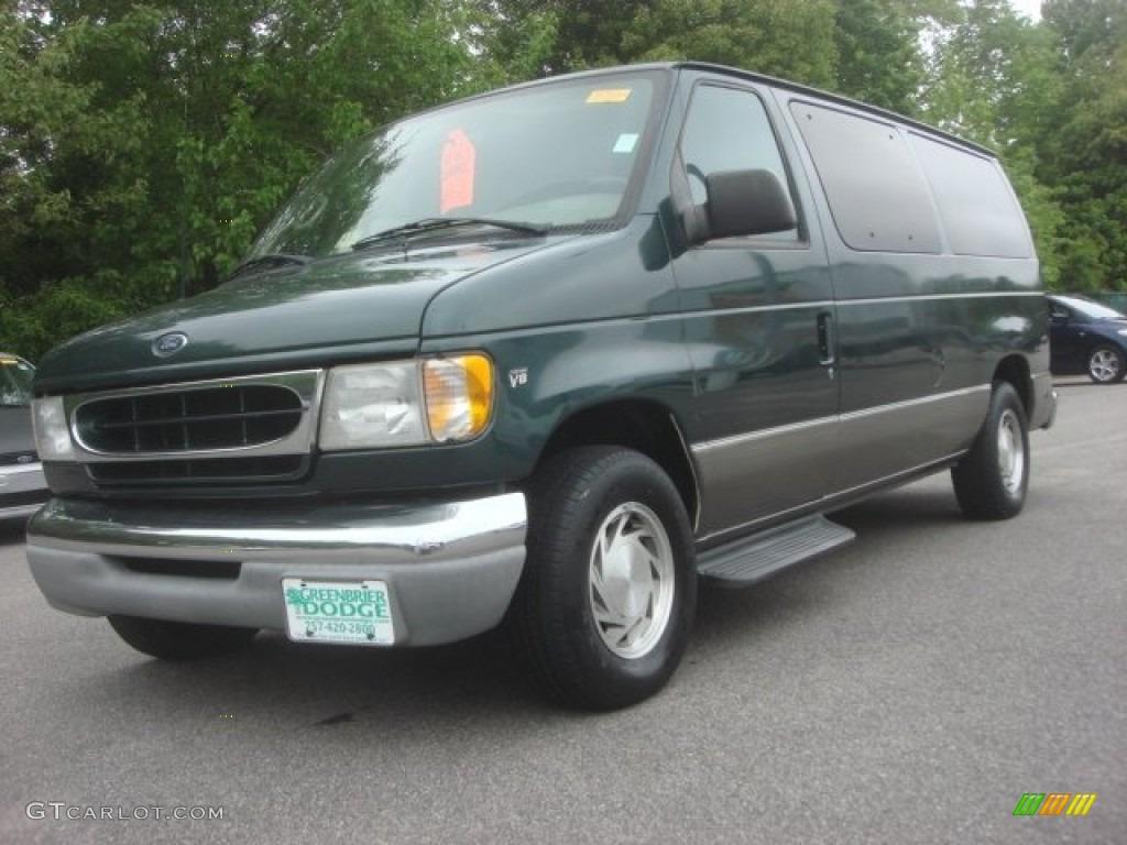 2001 charcoal green metallic ford e series van e150. Black Bedroom Furniture Sets. Home Design Ideas
