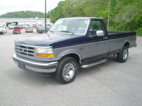 1995 Ford F150 XLT Regular Cab Data, Info and Specs