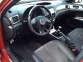 Carbon Black/Graphite Gray Alcantara Interior Photo for 2008 Subaru Impreza #80510559