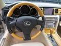 Ecru Beige Steering Wheel Photo for 2003 Lexus SC #80519437