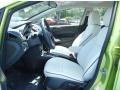 2013 Lime Squeeze Ford Fiesta Titanium Sedan  photo #6