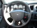 Medium Slate Gray Steering Wheel Photo for 2007 Dodge Ram 3500 #80531629