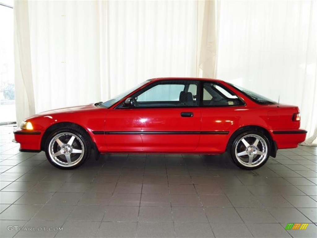 Rio Red 1990 Acura Integra RS Coupe Exterior Photo 80535817