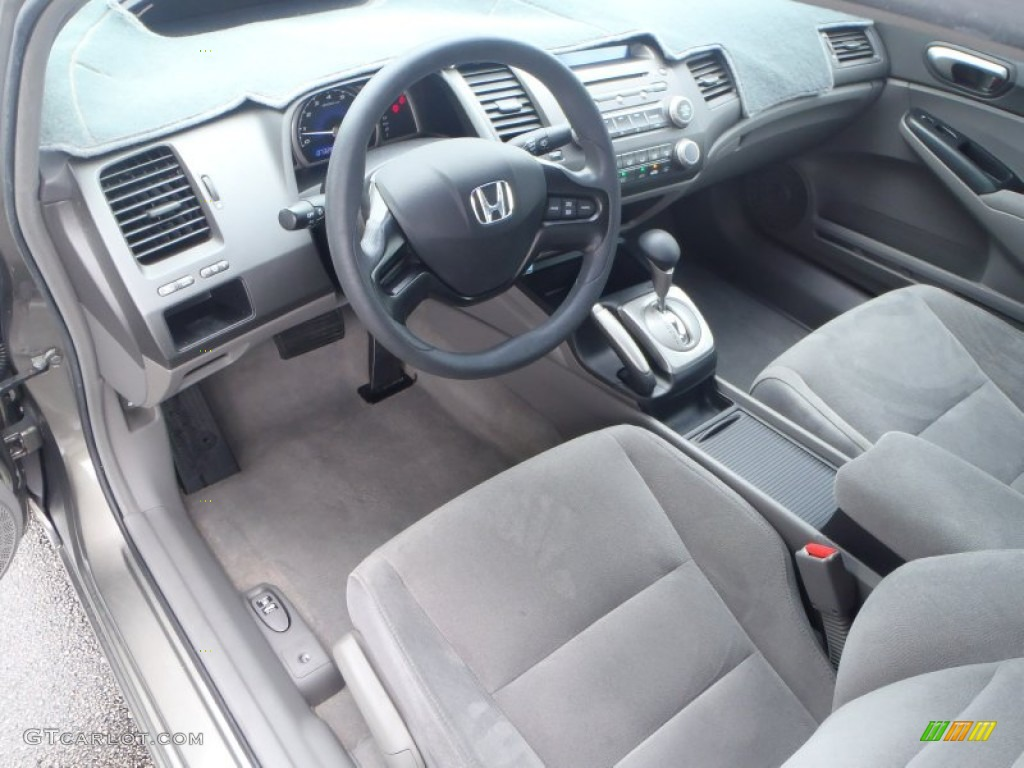 gray interior 2007 honda civic lx sedan photo 80540491. Black Bedroom Furniture Sets. Home Design Ideas