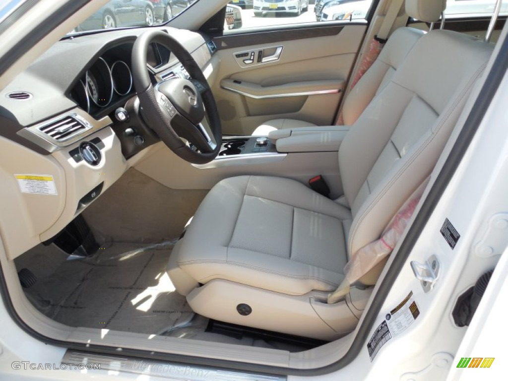 Silk Beige Espresso Brown Interior 2014 Mercedes Benz E 350 Sport Sedan Photo 80546320